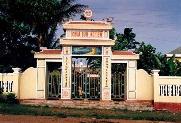 Tam quan chùa Bửu Nghiêm Gia Lai