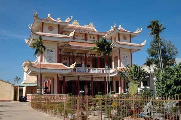 Toàn cảnh chùa Bửu Nghiêm Gia Lai