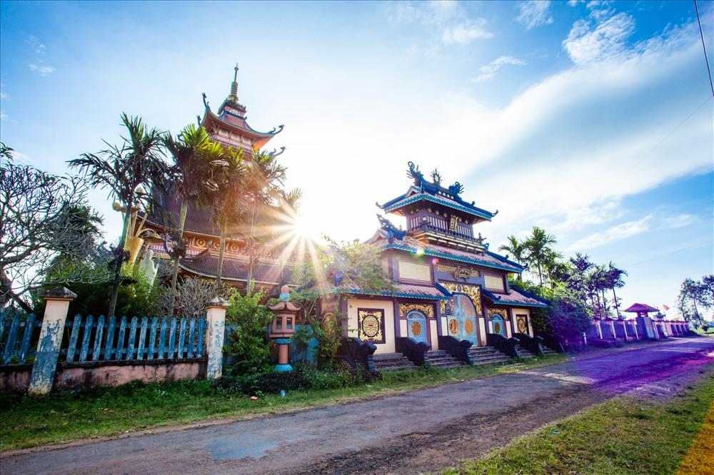 Chùa Bửu Minh - một trong những ngôi chùa ra đời sớm nhất tại Gia Lai. Ảnh: Chu Thế Dũng