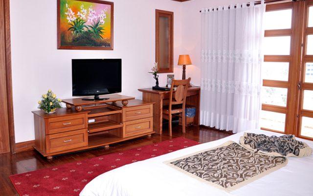 Gồm 117 phòng ngủ gồm 3 loại phòng Suite, Deluxe và Superior (Ảnh ST)