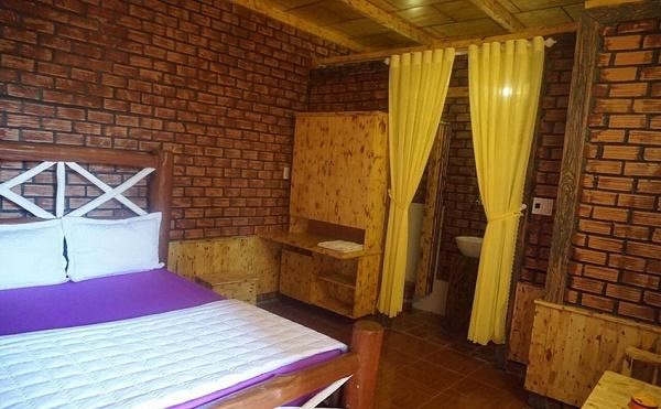 Không gian nội thất bên trong căn phòng ở Hoàng Gia