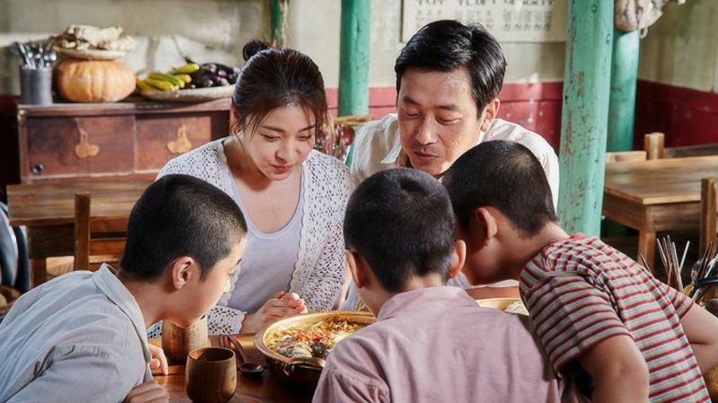 Khung cảnh đầy hạnh phúc của cả gia đình Heo Sam Kwan