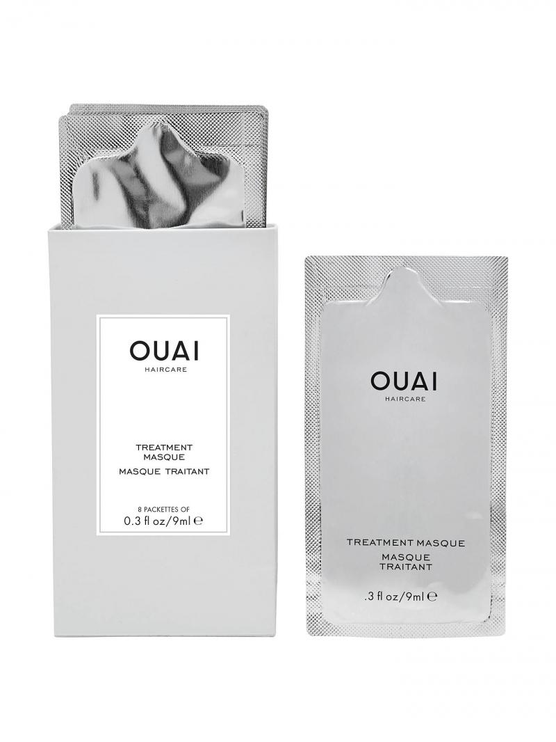 OUAI Treatment Masque là dạng mặt nạ ủ cho tóc, bổ sung keratin giúp tóc chắc khỏe, phục hồi tóc bị tổn thương do tác dụng nhiệt độ, hóa chất.