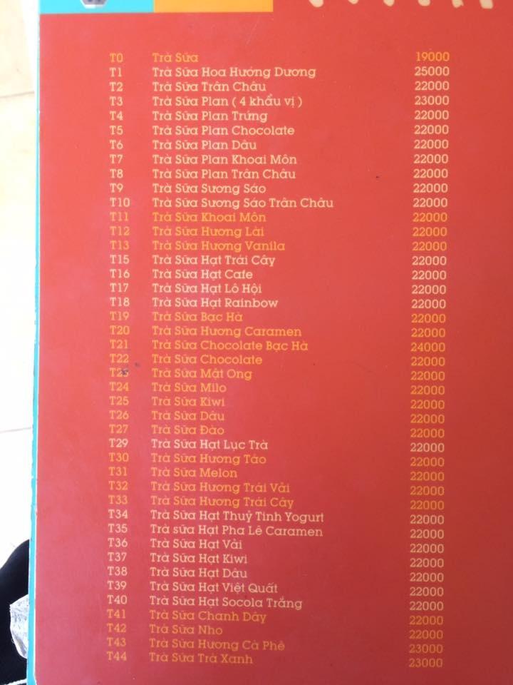 20 quán trà sữa ngon nhất tại Thành Phố Pleiku Gia Lai
