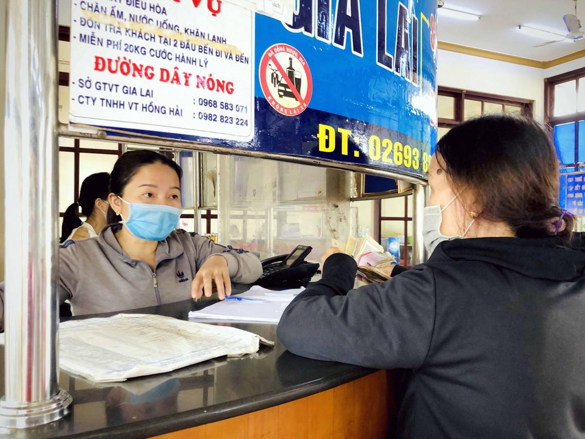 Gia Lai: Dừng vận tải hành khách đi/đến Hà Nội, Hải Phòng, Đak Lak