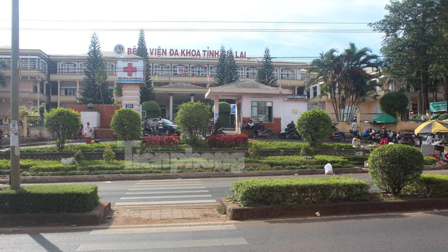 Trụ sở Bệnh viện đa khoa tỉnh Gia Lai. Ảnh: Đình Văn