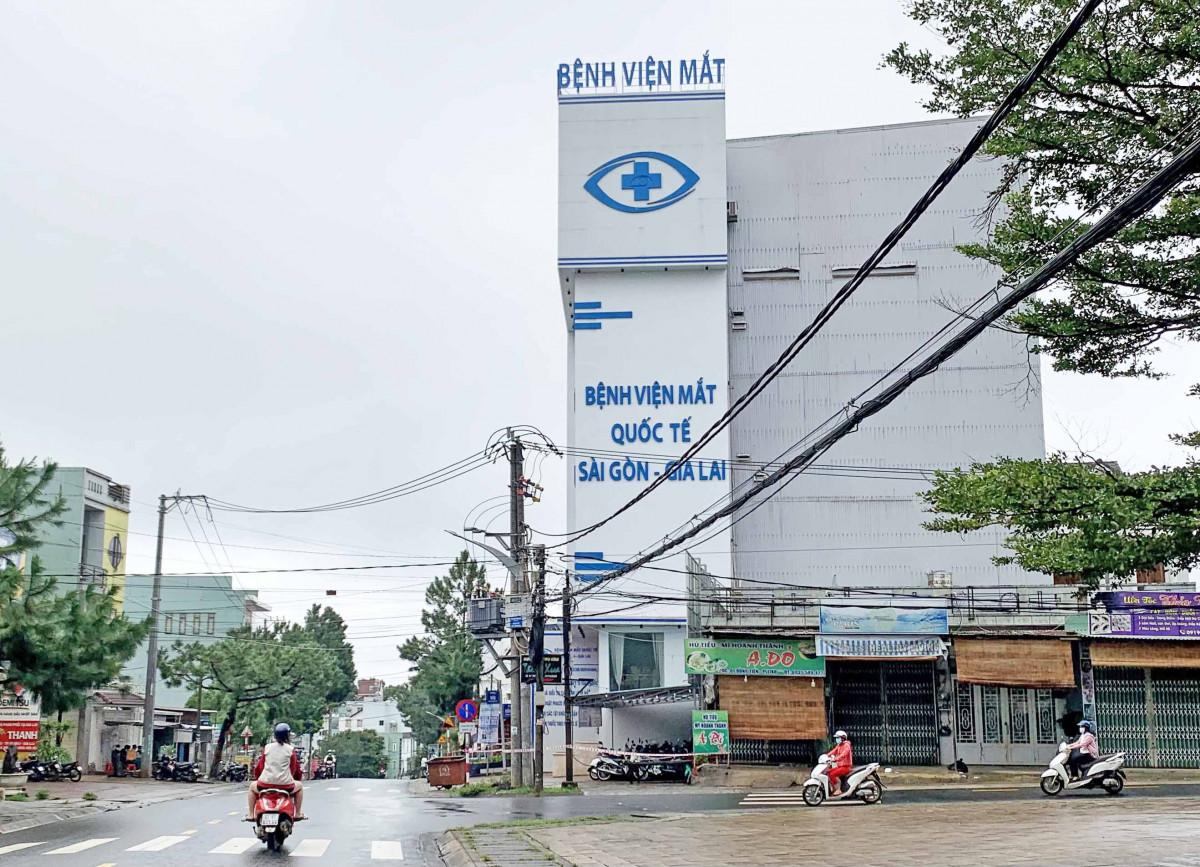 Gia Lai: Thêm 1 ca mắc Covid-19 là nhân viên Bệnh viện Mắt Quốc tế Sài Gòn-Gia Lai